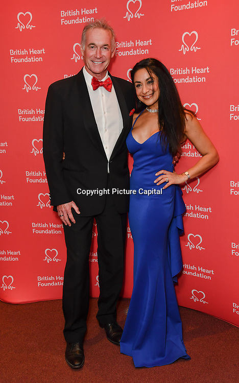Hilary Jones attends The British Heart Foundation's Heart Hero Awards at The Globe Theatre, to celebrate and say thank you to the charity's inspirational supporters. Picture date: Friday 5 October 2018. Hosted by Kay Burley, awards went to selfless fundraisers and those who have shown remarkable bravery and gone above and beyond to help others. Nominations are now open for next year's Heart Hero Awards.