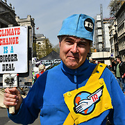 Day 4 - XRExtinction Occupy Parliament in demand the UK Govt to act of Climate Change by 2025 on 18 April 2019, London, UK.