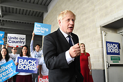 July 17, 2019 - London, London, United Kingdom - Boris Johnson and Jeremy Hunt Last Hustings. Conservative Party Leadership contenders Boris Johnson and Jeremy Hunt take part in the last hustings event at the Excel Centre, London,  in their bid to become the new Conservative party leader and Britain's new Prime Minister. (Credit Image: © Andrew Parsons/i-Images via ZUMA Press)