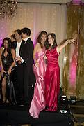 MARIA-TERESA FRERING, ALEXANDRA KOLASINKI . Crillon Debutante Ball 2007,  Crillon Hotel Paris. 24 November 2007. -DO NOT ARCHIVE-© Copyright Photograph by Dafydd Jones. 248 Clapham Rd. London SW9 0PZ. Tel 0207 820 0771. www.dafjones.com.