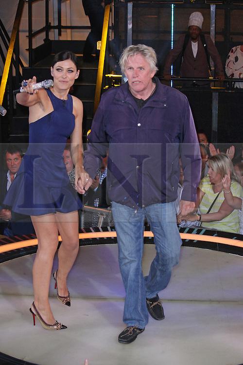 © Licensed to London News Pictures. 12/09/2014, UK. Emma Willis & Gary Busey, Celebrity Big Brother Summer 2014 - Live Final, Elstree Studios, Elstree UK, 12 September 2014. Photo credit : Brett D. Cove/Piqtured/LNP