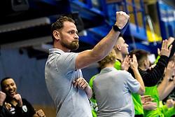 18.03.2018, BSFZ Suedstadt, Maria Enzersdorf, AUT, HLA, SG INSIGNIS Handball WESTWIEN vs HC FIVERS WAT Margareten, Bonus-Runde, 6. Runde, im Bild Trainer Hannes Jon Jonsson (SG INSIGNIS Handball WESTWIEN) // during Handball League Austria, Bonus-Runde, 6 th round match between SG INSIGNIS Handball WESTWIEN and HC FIVERS WAT Margareten at the BSFZ Suedstadt, Maria Enzersdorf, Austria on 2018/03/18, EXPA Pictures © 2018, PhotoCredit: EXPA/ Sebastian Pucher