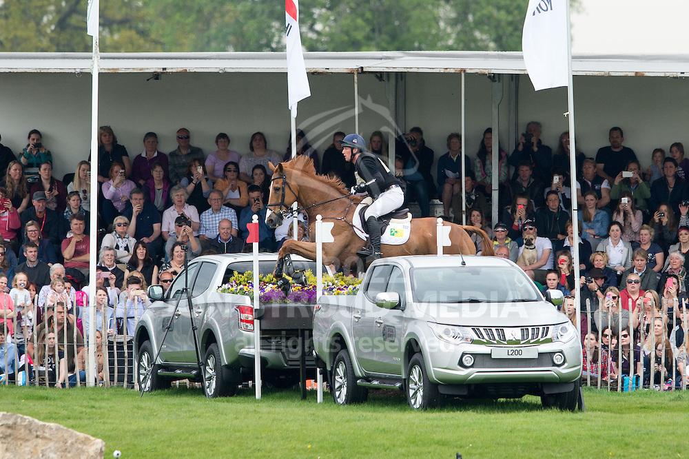 Oliver Townend (GBR) & Armada - Cross Country - CCI4* - Mitsubishi Motors Badminton Horse Trials 2016 - Badminton, Gloucestershire, United Kingdom - 07 May 2016