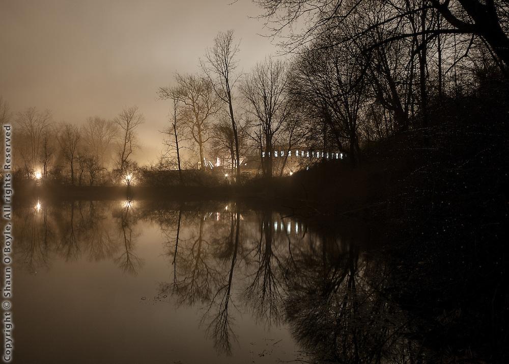 Crane's Pond and Bay State Mill, Dalton, MA