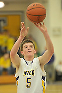Elyria Catholic High School at Avon High School boys varsity basketball on December 13, 2013. Images © David Richard and may not be copied, posted, published or printed without permission.
