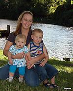 Savanna Timmy and Sareya Family Photos