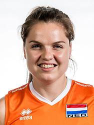 22-05-2017 NED: Nederlands volleybalteam vrouwen, Utrecht<br /> Photoshoot met Oranje vrouwen seizoen 2017 / Yvon Belien #3