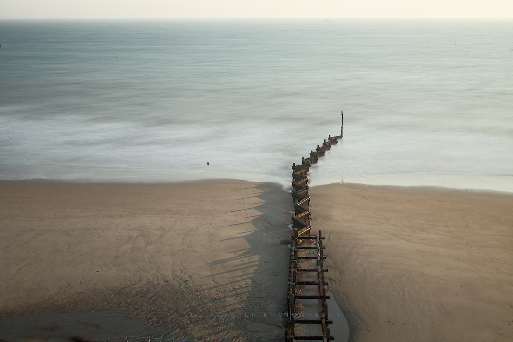 Went to Overstrand in Norfolk for sunrise yesterday, sunrise was a cloudless, hazy affair, but it suited this one quite well I think