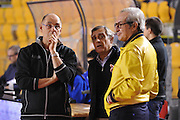 DESCRIZIONE : Roma LNP A2 2015-16 Acea Virtus Roma Assigeco Casalpusterlengo<br /> GIOCATORE : Attilio Caja<br /> CATEGORIA : coach allenatore pre game curiosita<br /> SQUADRA : Acea Virtus Roma<br /> EVENTO : Campionato LNP A2 2015-2016<br /> GARA : Acea Virtus Roma Assigeco Casalpusterlengo<br /> DATA : 01/11/2015<br /> SPORT : Pallacanestro <br /> AUTORE : Agenzia Ciamillo-Castoria/G.Masi<br /> Galleria : LNP A2 2015-2016<br /> Fotonotizia : Roma LNP A2 2015-16 Acea Virtus Roma Assigeco Casalpusterlengo