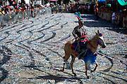 Bonfim_MG, Brasil.<br /> <br /> Tradicional Carnaval a cavalo na cidade de Bonfim, Minas Gerais. Evento acontece ha mais de 130 anos e reune cavaleiros mascarados no centro da cidade.<br /> <br /> Traditional Carnival horse in the town of Bonfim, Minas Gerais. Traditional event in downtown.<br /> <br /> Foto: MARCUS DESIMONI / NITRO
