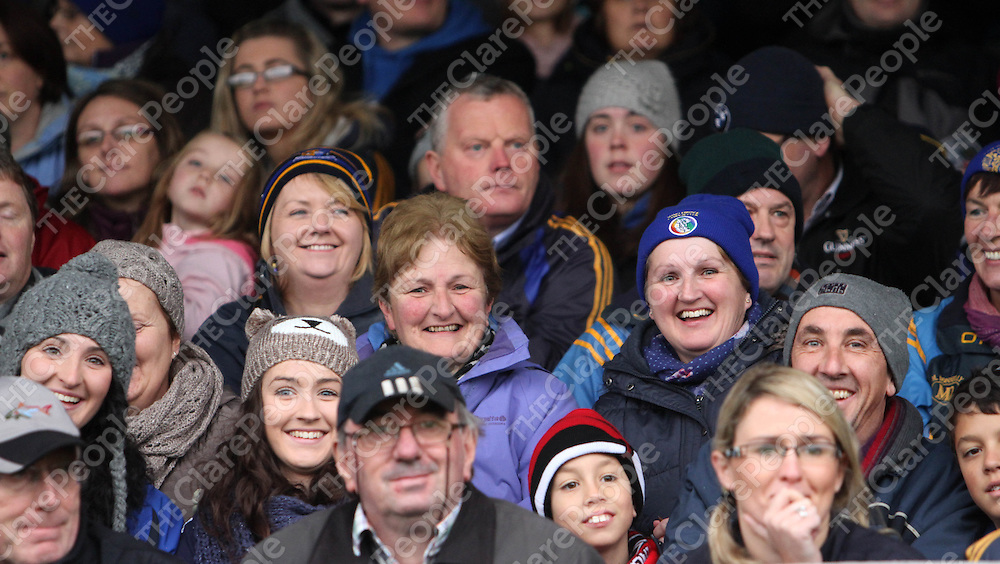 10/11/13 Some of the supporters who were at the Senior Hurling County Final in Cusack Park. Pic Tony Grehan / Press 22
