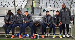 Cape Town-180804 Cape Town City substitutes before their clash against Supersport in the first game of the 2018/2019 season at Cape Town Stadium.photograph:Phando Jikelo/African News Agency/ANAr