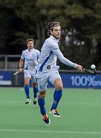 AMSTELVEEN - Lars Balk (Kampong) tijdens   hoofdklasse hockeywedstrijd mannen, Pinoke-Kampong (2-5) . COPYRIGHT KOEN SUYK