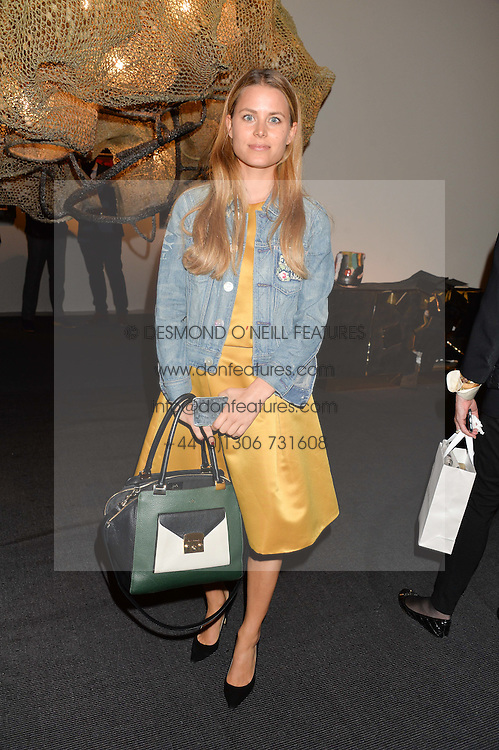 IRENE FORTE at the PAD London 10th Anniversary Collector's Preview, Berkeley Square, London on 3rd October 2016.