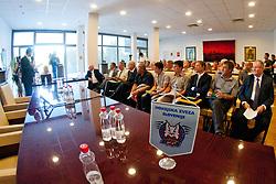 Na skupscini Hokejske zveze Slovenije, on September 7, 2011, in Ljubljana, Slovenia. (Photo by Matic Klansek Velej / Sportida)