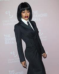 September 14, 2018 - New York City, New York, USA - 9/13/18.Teyana Taylor at Rihanna''s 4th Annual Diamond Ball held at Cipriani Wall Street in New York City..(NYC) (Credit Image: © Starmax/Newscom via ZUMA Press)