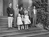 1960 - Earl and Countess of Rosse and family.