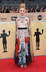 24th Annual Screen Actors Guild Awards held at the Shrine Exposition Center. 21 Jan 2018 Pictured: Cara Buono. Photo credit: OConnor-Arroyo / AFF-USA.com / MEGA TheMegaAgency.com +1 888 505 6342