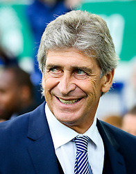 Manchester City Manager, Manuel Pellegrini   - Mandatory byline: Matt McNulty/JMP - 07966386802 - 23/08/2015 - FOOTBALL - Goodison Park -Everton,England - Everton v Manchester City - Barclays Premier League