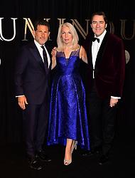 Josh Berger, Amanda Nevill and Jonathan Ross attending the BFI Luminous Fundraising Gala held at the Guildhall, London.
