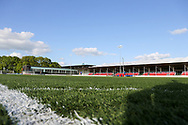 Corner view during the UEFA European Under 17 Championship 2018 match between Israel and Italy at St George's Park National Football Centre, Burton-Upon-Trent, United Kingdom on 10 May 2018. Picture by Mick Haynes.