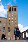 Santa Maria de Montserrat Abbey<br /> Sant Maria, de Monserrat, Catalonia