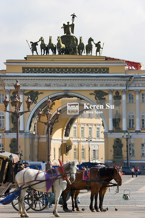 Palace Gate, St. Petersburg, Russia
