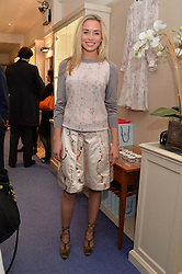 NOELLE RENO at a preview of the latest collections by jewellery designer Kiki Mcdonough and fashion label Beulah held at Kiki McDonough Jewellery, 12 Symons Street, London on 5th March 2014.