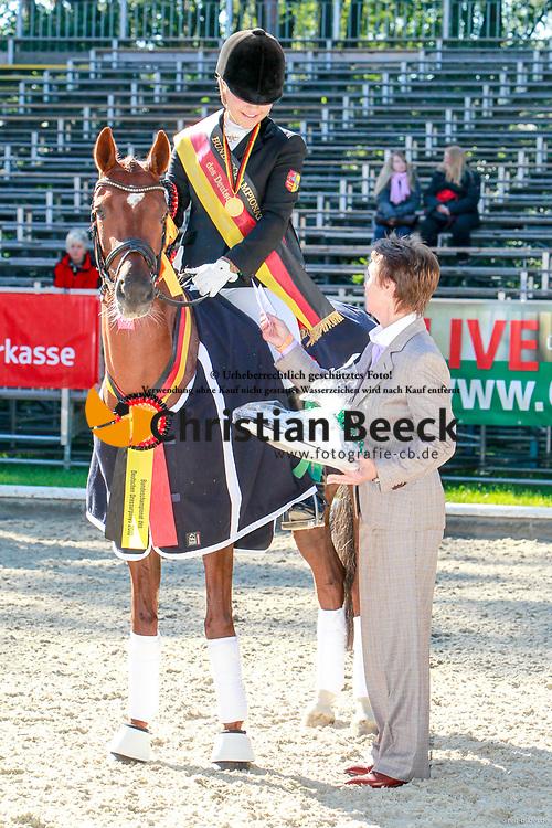 , Warendorf - Bundeschampionate  01. - 05.09.2010, Coppa Cabana 4 - Schürmann, Charlott-Maria - Championatssieger