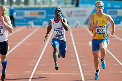 LABZIN Alexey, DAMBAKATE Bacou, JONSSON Per, 2014 IPC European Athletics Championships, Swansea, Wales, United Kingdom