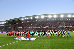 April 17, 2018 - Nantes, France - protocole avant match (Credit Image: © Panoramic via ZUMA Press)