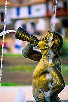 Fountain, Plaza de Armas, Cuzco, Peru