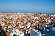 Italy, Venice, Elevated Cityscape
