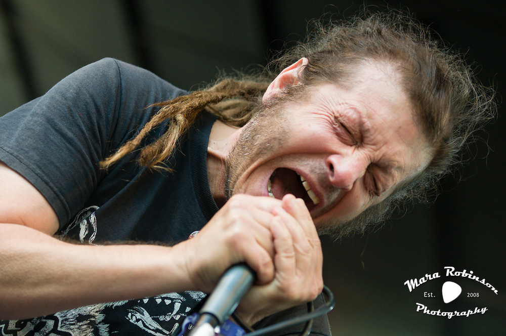 Keith Morris (OFF!. Black Flag) live in concert at Pitchfork Music Festival 2011, Chicago, IL. Concert photography by Akron music photographer, Cleveland music photographer Mara Robinson