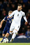 Bibras Natcho (6) (Olympiacos)of Israel during the UEFA Nations League match between Scotland and Israel at Hampden Park, Glasgow, United Kingdom on 20 November 2018.