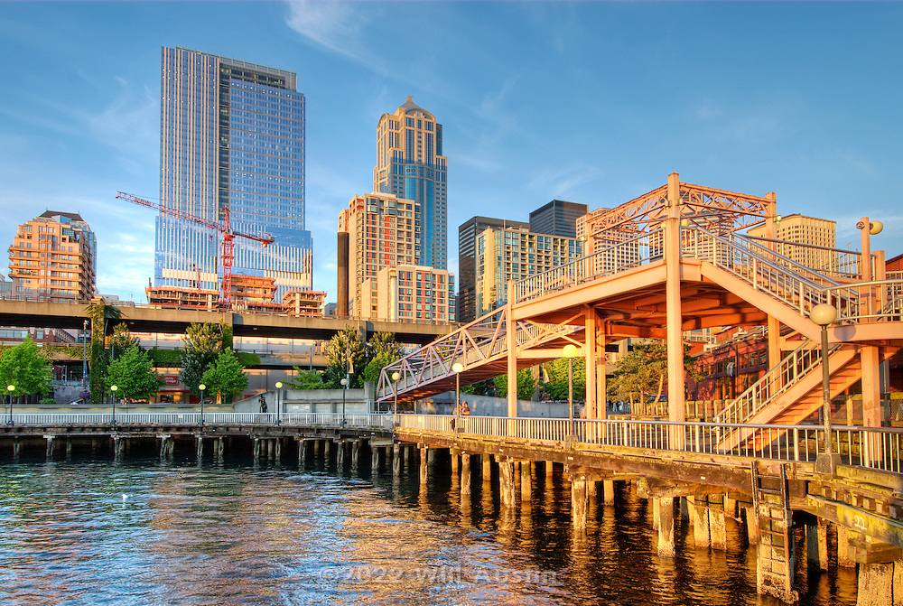 Downtown Seattle as seen from the waterfront