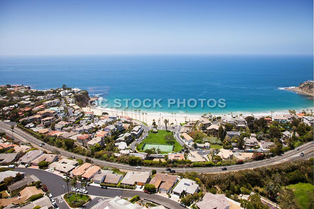 A View Of Laguna Beach Homes and Coastline