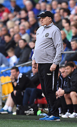Cardiff City Manager, Russell Slade on the side-line at Cardiff City Stadium - Photo mandatory by-line: Paul Knight/JMP - Mobile: 07966 386802 - 06/04/2015 - SPORT - Football - Cardiff - Cardiff City Stadium - Cardiff City v Bolton Wanderers - Sky Bet Championship