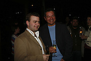 Stuart Piper and Antony Drewe, Press night for Sunday in the Park with George, Inn The Park, St james Park opp ICA. 23 May 2006. <br />ONE TIME USE ONLY - DO NOT ARCHIVE  © Copyright Photograph by Dafydd Jones 66 Stockwell Park Rd. London SW9 0DA Tel 020 7733 0108 www.dafjones.com