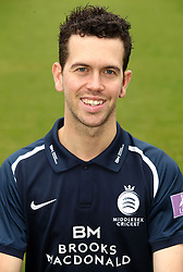 Middlesex's Nathan Sowter during the media day at Lord's Cricket Ground, London.