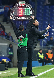 January 4, 2019 - Barcelona, Spain - Mauricio Pellegrino during the match between RCD Espanyol and CD Leganes, corresponding to the week 18 of the Liga Santander, played at the RCDE Stadium on 04th January 2019 in Barcelona, Spain. (Credit Image: © Joan Valls/NurPhoto via ZUMA Press)