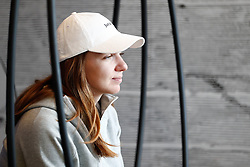 May 3, 2019 - Madrid, MADRID, SPAIN - Simona Halep of Romania during the Mutua Madrid Open 2019 (ATP Masters 1000 and WTA Premier) tenis tournament at Caja Magica in Madrid, Spain, on April 28, 2019. (Credit Image: © AFP7 via ZUMA Wire)