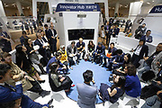 Huang Wei, Founder and Chief Executive Officer, Unisound, People's Republic of China during the session: An Innovator's Journey: Using Voice Recognition to Connect to Everything at the World Economic Forum - Annual Meeting of the New Champions in Tianjin, People's Republic of China 2018.Copyright by World Economic Forum / Greg Beadle