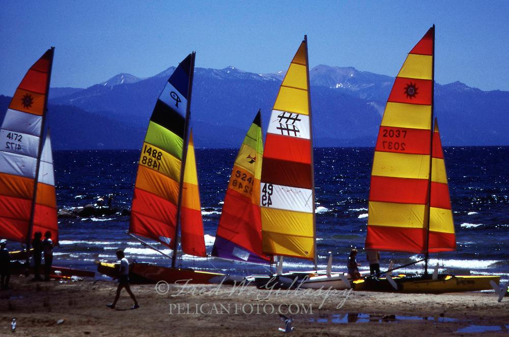 Sailing on Lake Tahoe III