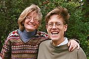 Happy couple age 45.  Shoreview Minnesota USA