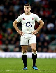George Ford of England - Mandatory by-line: Robbie Stephenson/JMP - 26/02/2017 - RUGBY - Twickenham Stadium - London, England - England v Italy - RBS 6 Nations round three