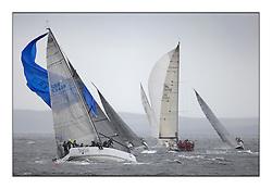 Brewin Dolphin Scottish Series 2011, Tarbert Loch Fyne - Yachting - Day 3 of the 4 day series. Windier!..GBR5940R Tokoloshe, Michael Bartholomew, Royal Cape YC, King 40