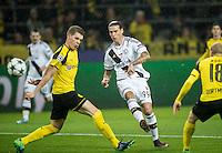 2016.11.22 , Dortmund ,  Pilka nozna UEFA Liga Mistrzow Sezon 2016/2017<br /> Mecz Borussia Dortmund - Legia Warszawa<br /> N/z Aleksandar Prijovic strzela bramke, gol<br /> Foto Rafal Oleksiewicz / PressFocus<br /> <br /> 2016.11.22 , Football UEFA Champions League Season 2016/2017<br /> Borussia Dortmund - Legia Warszawa<br /> Aleksandar Prijovic strzela bramke, gol<br /> Credit Rafal Oleksiewicz / PressFocus