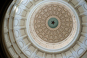 The rotunda of the Texas Capitol in Austin, Texas