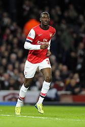 Arsenal's Yaya Sanogo - Photo mandatory by-line: Joe Meredith/JMP - Tel: Mobile: 07966 386802 19/02/2014 - SPORT - FOOTBALL - London - Emirates Stadium - Arsenal v Bayern Munich - Champions League - Last 16 - First Leg